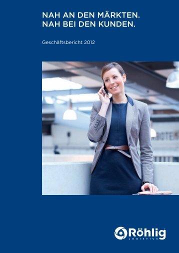Röhlig Geschäftsbericht 2012 pdf, 21 Seite(n)