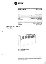 CON-IN-IA Steam and Hot Water Convectors - Federal Industrial Sales