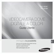 VIDEOCAMERA DOME DIGITALE A COLORI - DOMUSWIRE