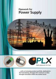 Durapipe P-LX Brochure - IPS Flow Systems