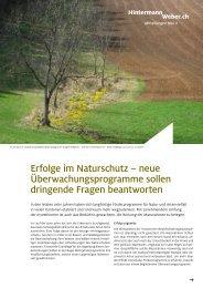 Erfolge im Naturschutz – neue Überwachungsprogramme sollen ...