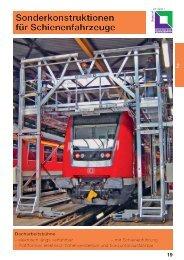 Sonderkonstruktionen für Schienenfahrzeuge - EurailTelematics.com