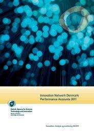 Innovation Network Denmark Performance Accounts 2011