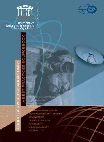 Public service broadcasting: a best practices ... - unesdoc - Unesco