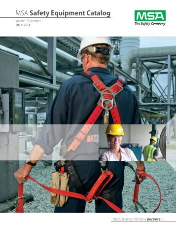 MSA Safety Equipment Catalog - 5 Alarm Fire and Safety Equipment