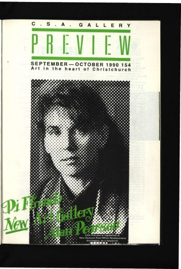 S . A . G A L L E R Y SEPTEMBER —OCTOBER 1990 154 Art in the ...
