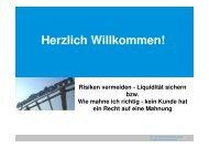 Risiken vermeiden - Liquidität sichern - Creditreform Dortmund/Witten