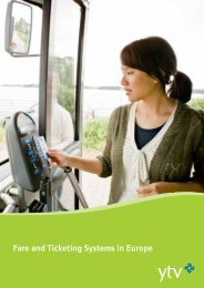 Fare and Ticketing Systems in Europe - EMTA