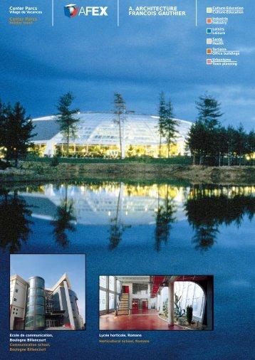 A. ARCHITECTURE FRANCOIS GAUTHIER - Le réseau @archi.fr