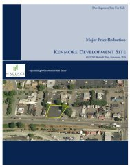 Sale Flyer/Confidentiality Agreement - Wallace Properties