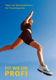 Fit wie ein ProFi - Bewegung und Fitness