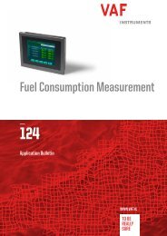 Fuel Consumption Measurement Brochure - Cross Technical Services