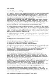 Jahresbericht Zentralpräsident 2011 - Sprengverband Schweiz SVS