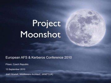 PDF format. - European AFS & Kerberos Conference 2010