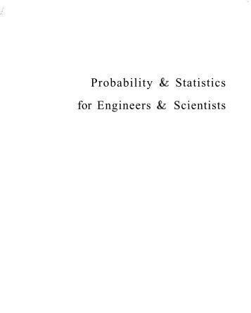 Devore Probability Statistics Engineering Sciences 8th Txtbk