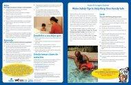 Consejos sobre la seguridad en el agua para mantener a su familia ...