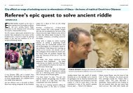 Referee's epic quest to solve ancient riddle - Odysseus Unbound