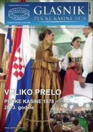 113 Siječanj 2013 - Pučka Kasina 1878
