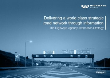 Highways Agency business plan 2014 to 2015