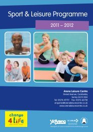 Sport & Leisure Programme - Surrey Heath Borough Council