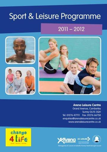 Sport & Leisure Programme - Surrey Heath Borough Council