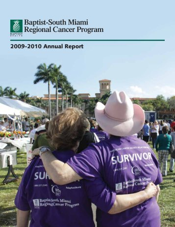 2009-2010 Annual Report - Baptist Health South Florida