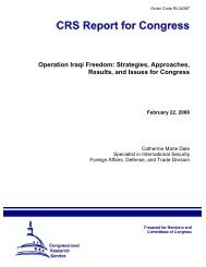 Operation Iraqi Freedom: Strategies, Approaches ... - PolicyArchive