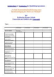 Unterstufe - Katharina-Kasper-Schule