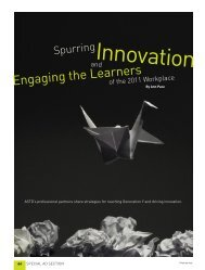 Spurring Innovation and Engaging the Learners of the 2011