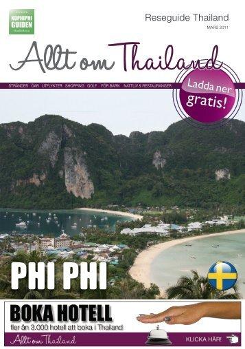 Reseguide Thailand - Gratis Guider