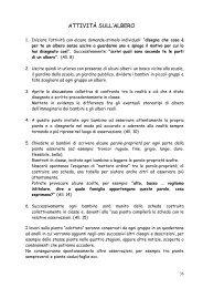 ATTIVITÀ SULL'ALBERO - Circolo Didattico Figline Valdarno