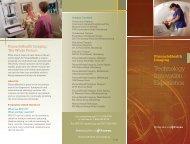 Imaging Brochure - PinnacleHealth System