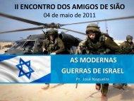 as modernas guerras de israel - Cristo é Vida