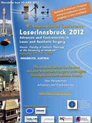 The most Advanced Conference on Laser & Aesthetic Surgery with ...