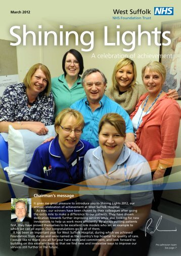 Shining Lights - West Suffolk Hospital
