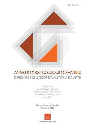 Athos Bulcão, Brasília e a crítica de arte no Brasil - CBHA