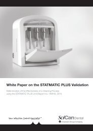 White Paper on the STATMATIC PLUS Validation - Scican.uk.com