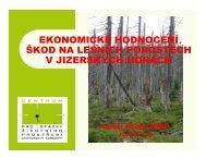 prezentace (pdf, 4,3 MB) - Centrum pro otázky životního prostředí UK