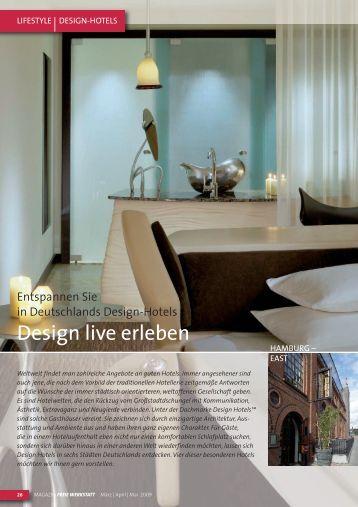 Design live erleben - Superbude Hotel * Hostel * Hamburg