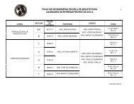 2014-A Calendario de Entregas
