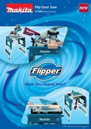 Made You Flipped Over? - Makita