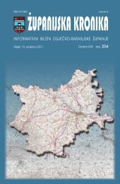 Županijska kronika broj 204 - Osječko baranjska županija