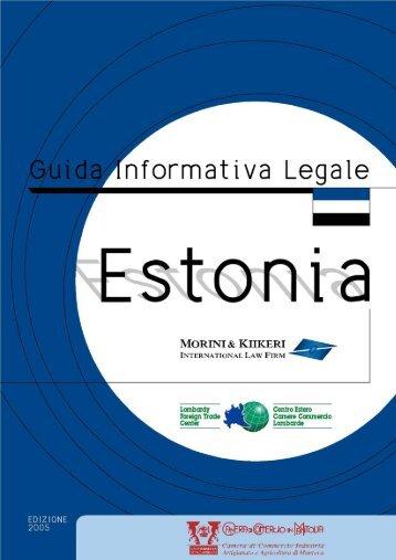 Estonia - Camera di Commercio di Mantova