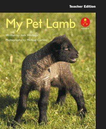L12 TEpp My Pet Lamb