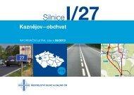 Silnice I/27 Kaznějov - obchvat - Ředitelství silnic a dálnic