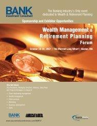 Wealth Management & Retirement Planning - Professional Events