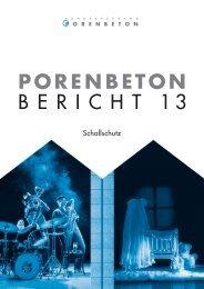 Porenbeton - Bericht 13 - Cirkel GmbH & Co.KG