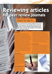 Reviewing articles