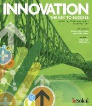 Innovation the key to success - Québec International