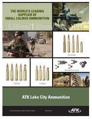 Brochure - ATK Lake City MIL-STD ammunition - NIOA LEM